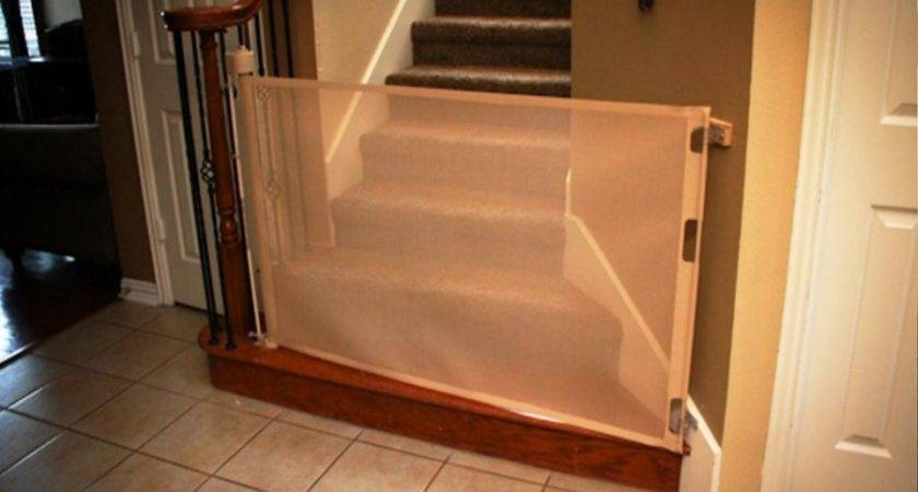 White Baby Gates Stairs Banisters Staircase