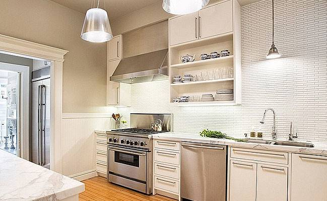 White Backsplash Tile Photos Ideas