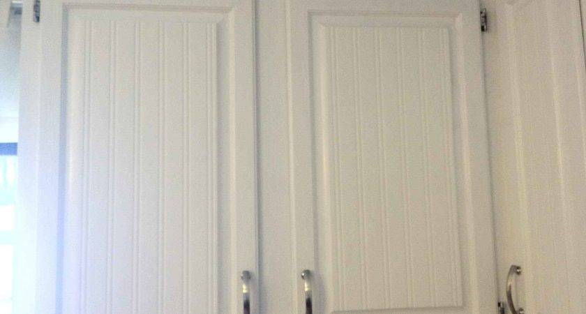 White Beadboard Kitchen Cabinet Doors Feel Home