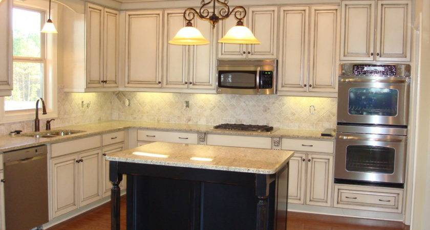 White Black Distressed Cabinets Roselawnlutheran