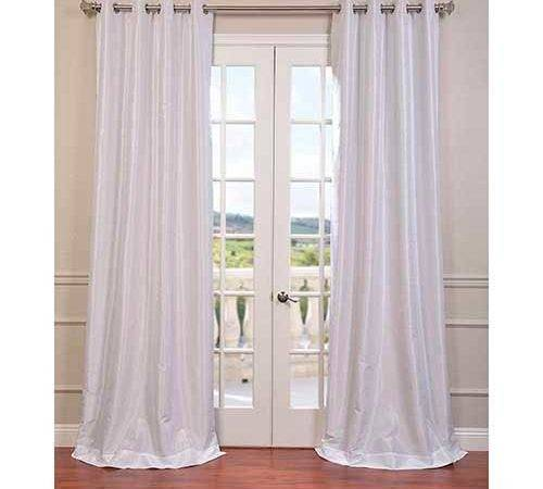 White Inch Vintage Textured Grommet Blackout