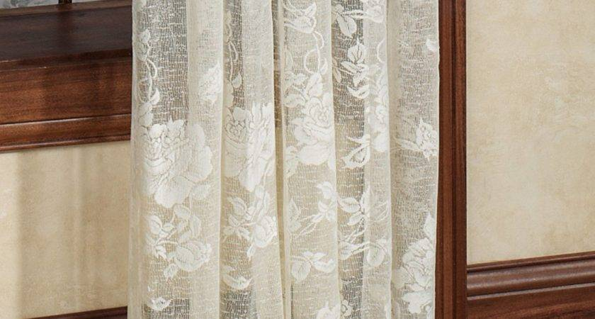 White Lace Curtains Target Curtain Menzilperde