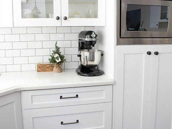 White Shaker Style Cabinets Cozy Design Christmas