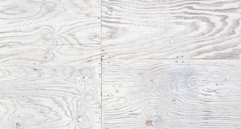 White Stained Weathered Plywood