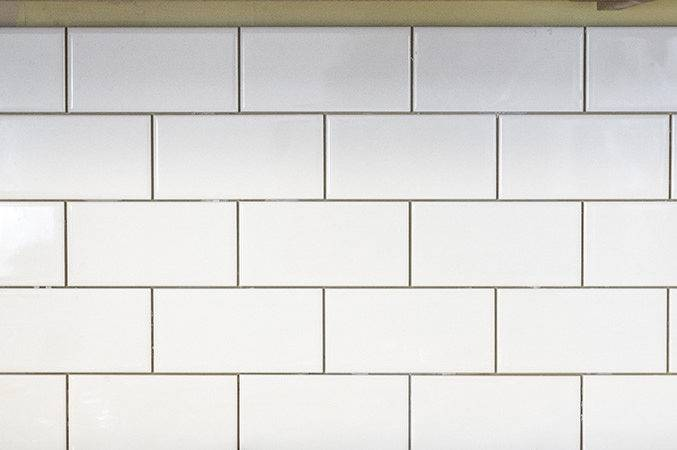 White Subway Tile Backsplash Story Dream Green Diy