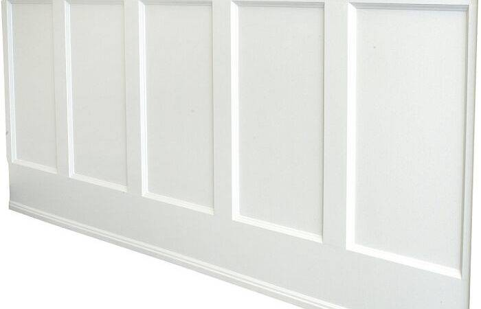 White Wainscoting Home Design