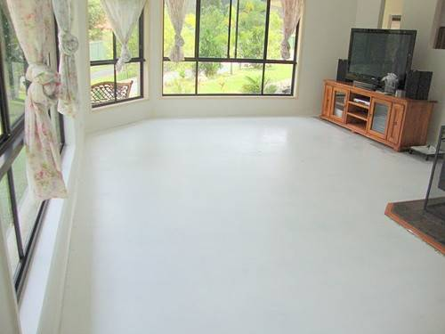 Why Decorative Paint Concrete Floor