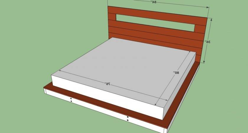 Width King Bed Inches Queen Amp
