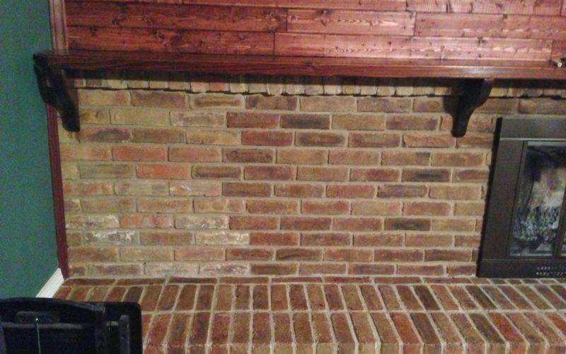 Wilker Diy Stain Fireplace Brick