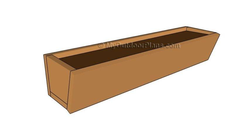 Window Box Plans Outdoor Diy Shed Wooden