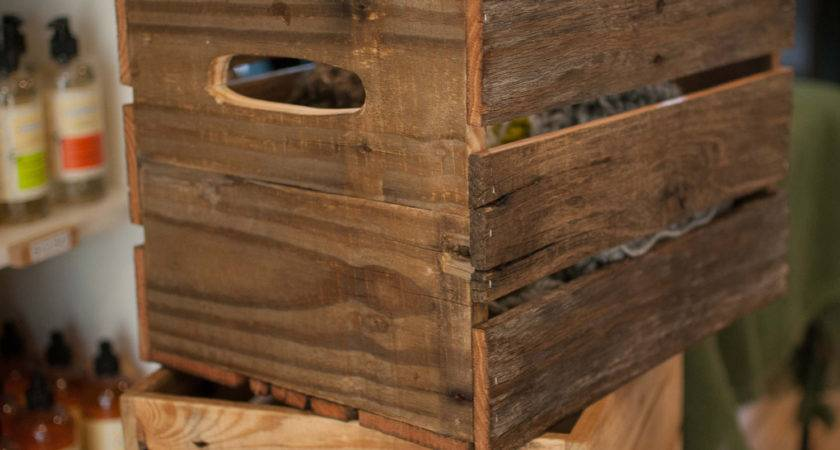 Wine Crate Wood Made Reclaimed Reformedwood