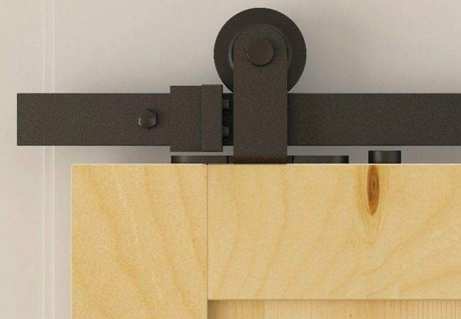 Winsoon Modern Doors Bypass Sliding Barn Door Hardware