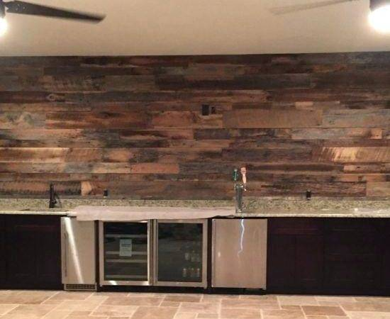 Wood Accent Wall Reclaimed Project