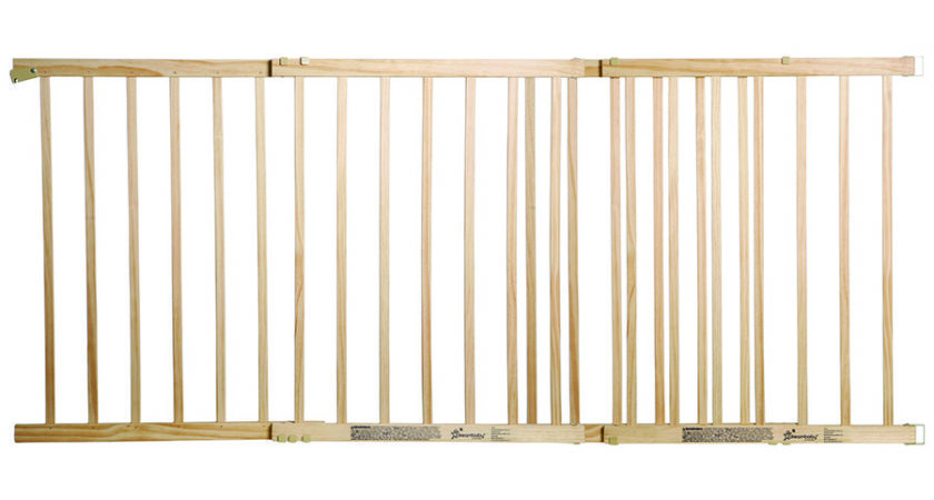 Wood Baby Gates Glass