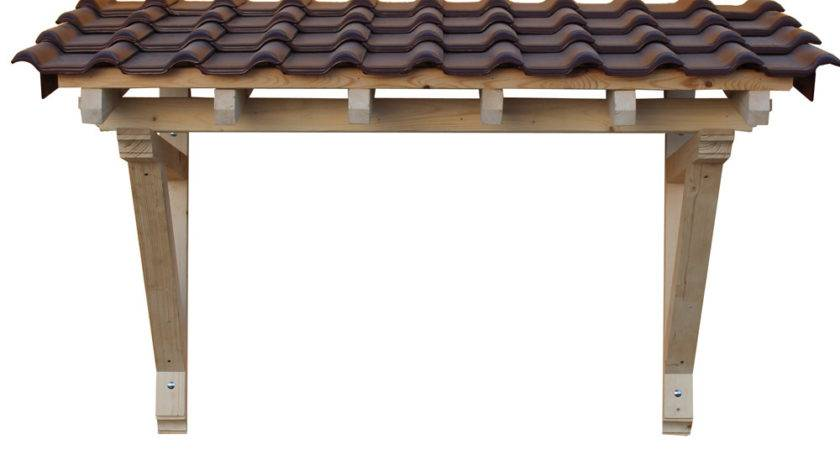 Wood Canopy Porch Door Awning Panel Solid Timber