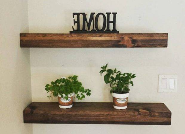 Wood Floating Shelves Lowes Morespoons Fbea