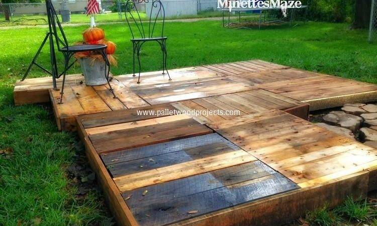 Wood Pallet Deck Ideas Projects