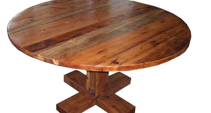 Wood Pedestal Table Base Interesting Round Farmhouse