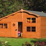 Wood Play House Wooden Kids Playhouse Cottage Costco