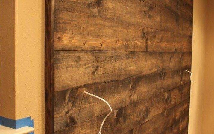 Wood Wall Completed Cavender Diary