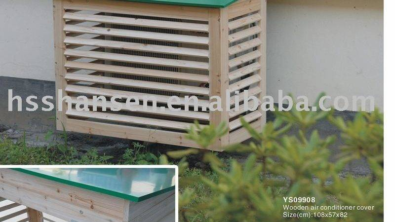 Wooden Air Conditioner Cover Buy