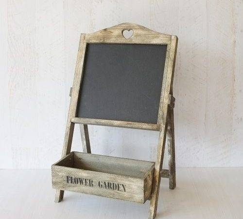Wooden Chalkboard Stand Box Hire