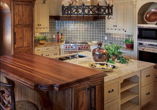 Wooden Country Kitchen Countertops Ideas Kitchentoday