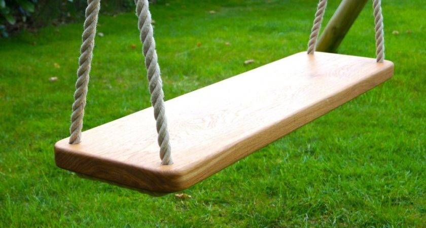 Wooden Double Swing Seat Makemesomethingspecial
