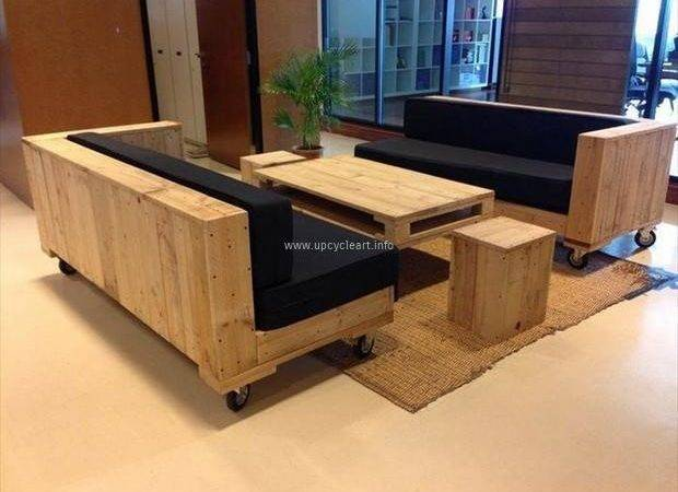 Wooden Furniture Ideas Pallets Upcycle Art