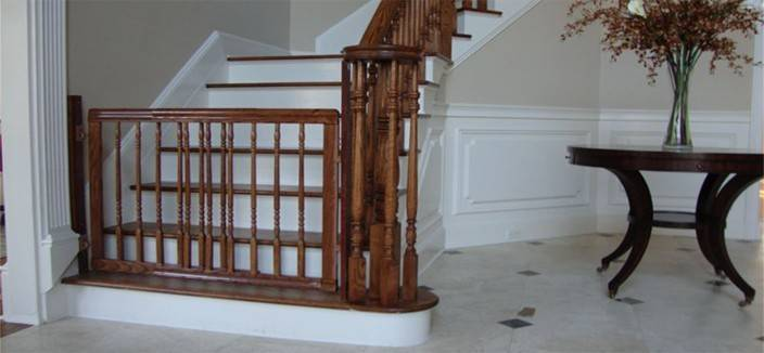Wooden Gate Stairs Trendy Answer