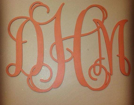 Wooden Monogram Wall Hanging All Sizes