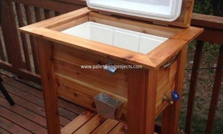 Wooden Pallet Cooler Designs Wood Projects