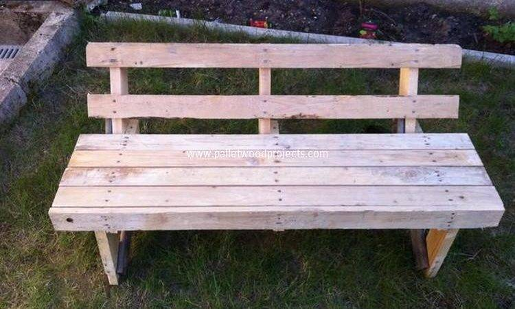 Wooden Pallet Garden Bench Plans Wood Projects