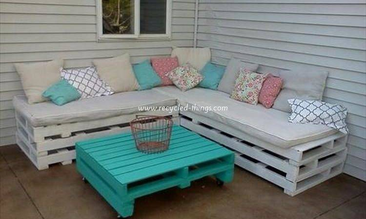 Wooden Pallet Outdoor Furniture Ideas Recycled Things