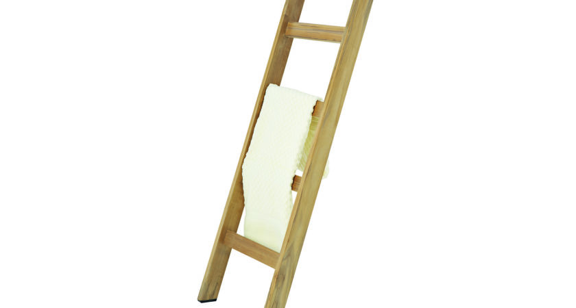 Wooden Towel Ladder Bathroom Furnishings Out