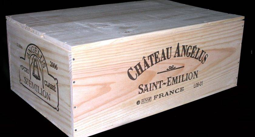 Wooden Wine Boxes Crates February