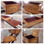 Wooden Wine Boxes Crates Interesting