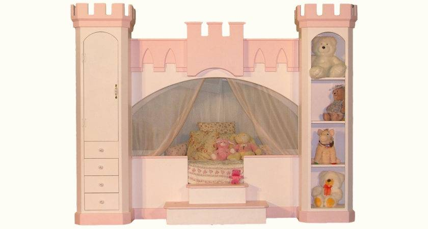 Woodland Princess Castle Bunk Bed Plans Woodproject