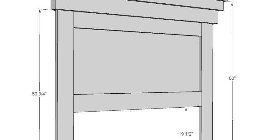 Woodwork Queen Headboard Plans Pdf