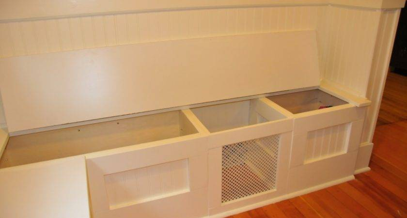 Woodworking Plans Breakfast Nook Storage Bench Pdf