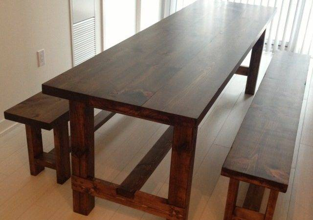 Woodworking Plans Farmhouse Table Bench Pdf