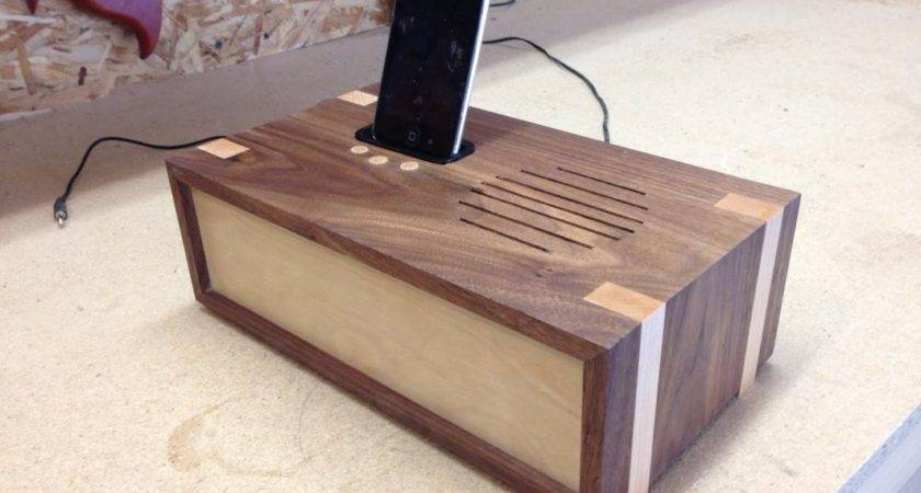 Woodworking Project Docking Station Youtube