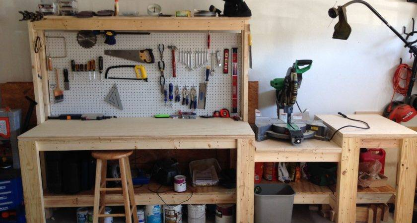 Workbench Build Home Workshop Ideas Pinterest