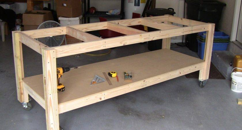 Workbench Plans Casters Pdf Woodworking