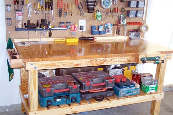 Workbenches Garages Home Decoration Club