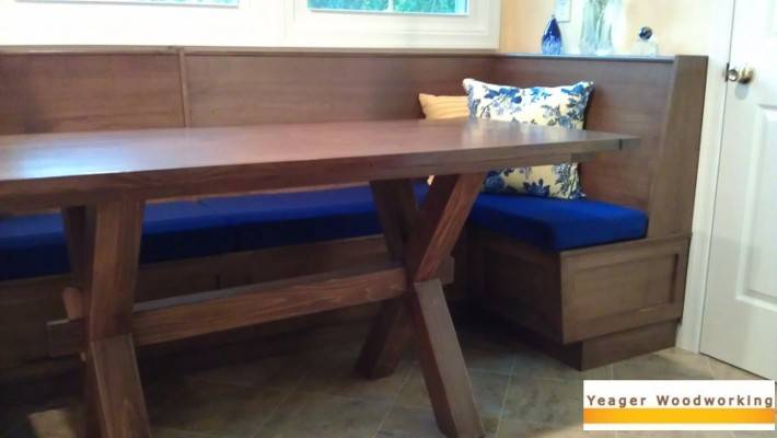Yeager Woodworking Banquettes Built Seating