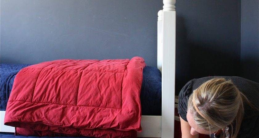 Yellow Cape Cod Holiday Home Series Diy Trundle Bed