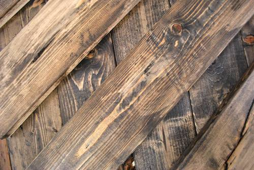 Young House Love Make New Wood Look Old