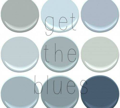 Your Favorite Benjamin Moore Blues Old Country House
