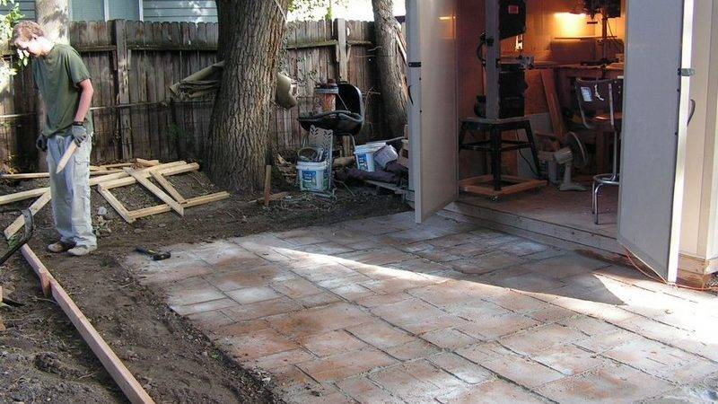 Yourself Cement Patio Your Projects Obn